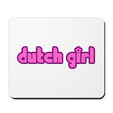Dutch Girl Cute Holland Mousepad