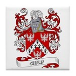 Child Coat of Arms Tile Coaster