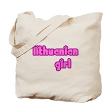 Lithuanian Girl Cute Tote Bag