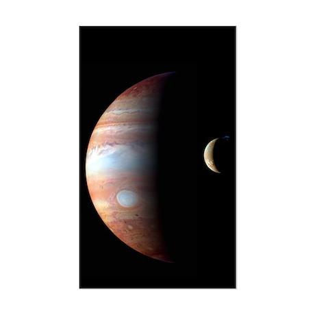 Jupiter & IO Rectangle Sticker