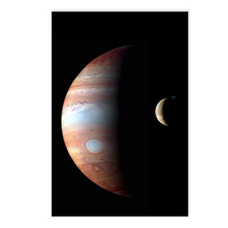 Jupiter & IO Postcards (Package of 8)