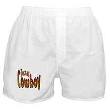 Texas Cowboy Boxer Shorts