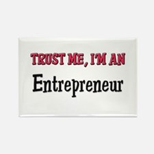 Trust Me I'm an Entrepreneur Rectangle Magnet (10