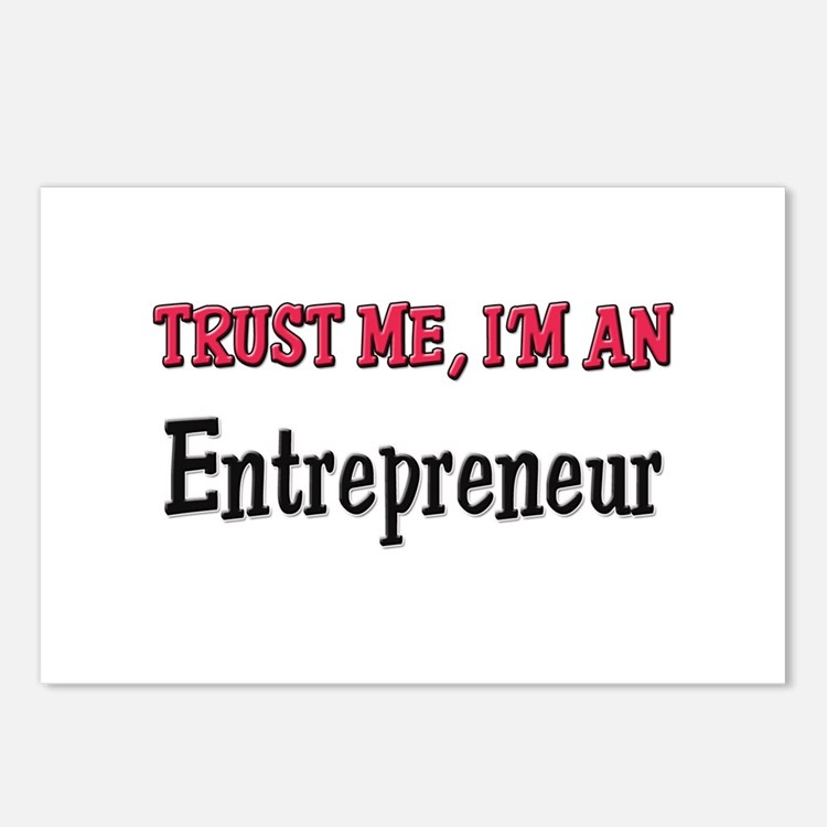 Trust Me I'm an Entrepreneur Postcards (Package of