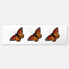 Monarch Butterfly Bumper Bumper Sticker