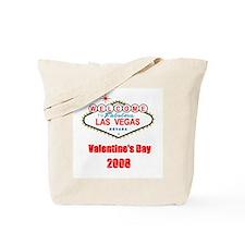 Las Vegas Valentine's Day 2008 Tote Bag