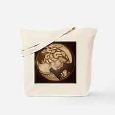 Lillian cameo antique sepia Tote Bag
