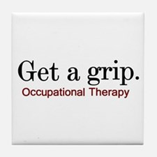 Get a grip. Tile Coaster