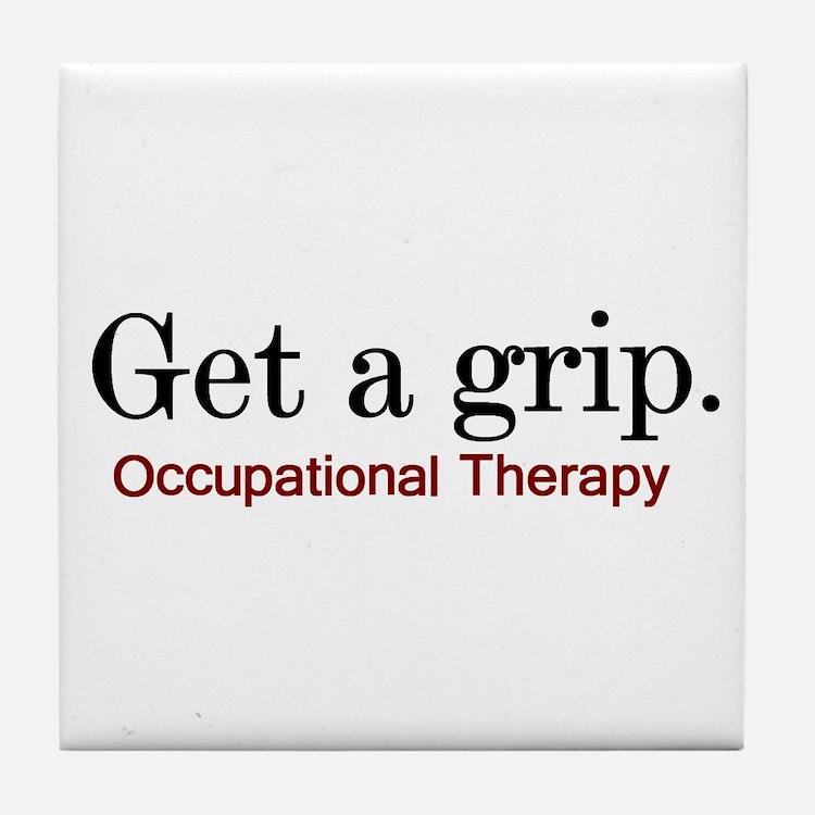 Get a grip. Tile Coaster
