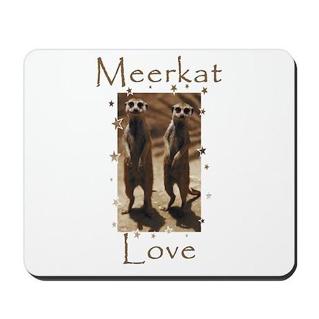 Meerkat Love Mousepad