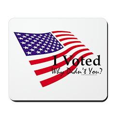 I Voted Mousepad