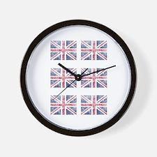 Multi flag Wall Clock