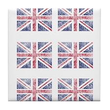 Multi flag Tile Coaster