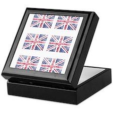 Multi flag Keepsake Box