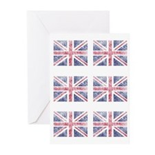 Multi flag Greeting Cards (Pk of 10)