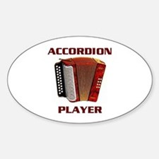 ACCORDION Oval Decal