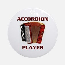 ACCORDION Ornament (Round)