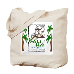 Bali Hai at the Beach Tote Bag