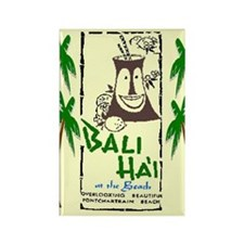 Bali Hai at the Beach Rectangle Magnet