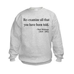 Walter Whitman 11 Sweatshirt