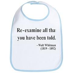 Walter Whitman 11 Bib