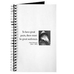 Walter Whitman 12 Journal