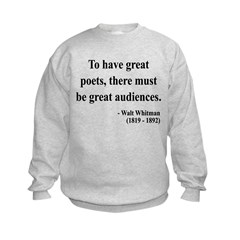 Walter Whitman 12 Sweatshirt