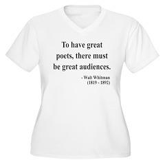 Walter Whitman 12 T-Shirt