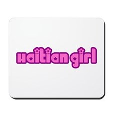 Haitian Girl Cute Haiti Mousepad