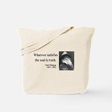 Walter Whitman 13 Tote Bag