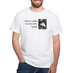Walter Whitman 13 White T-Shirt
