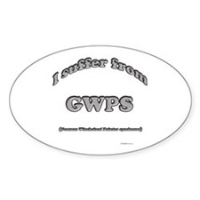 Wirehaired Syndrome2 Oval Decal