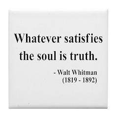Walter Whitman 13 Tile Coaster