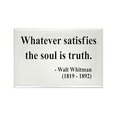 Walter Whitman 13 Rectangle Magnet (100 pack)