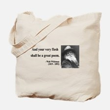 Walter Whitman 14 Tote Bag