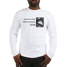 Walter Whitman 14 Long Sleeve T-Shirt