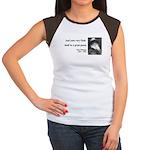 Walter Whitman 14 Women's Cap Sleeve T-Shirt