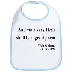 Walter Whitman 14 Bib