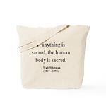 Walter Whitman 15 Tote Bag
