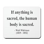 Walter Whitman 15 Mousepad