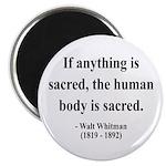 "Walter Whitman 15 2.25"" Magnet (100 pack)"