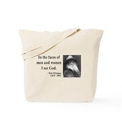 Walter Whitman 16 Tote Bag