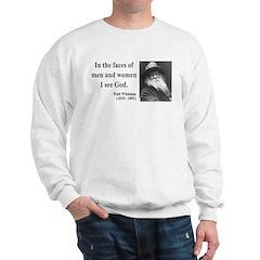 Walter Whitman 16 Sweatshirt
