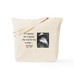 Walter Whitman 17 Tote Bag