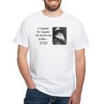Walter Whitman 17 White T-Shirt