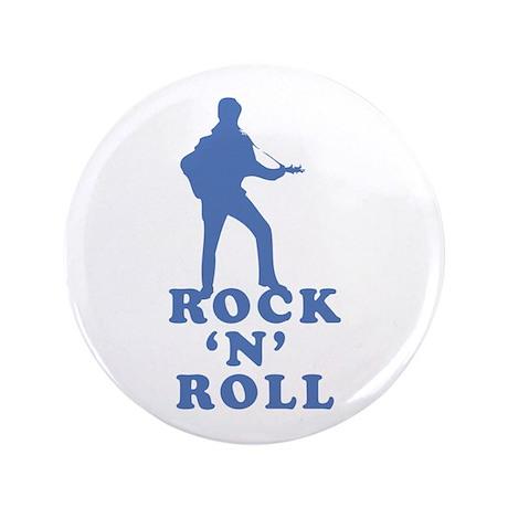 "ROCK N ROLL 3.5"" Button"