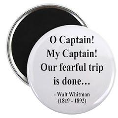 "Walter Whitman 17 2.25"" Magnet (100 pack)"