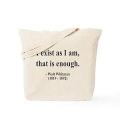 Walter Whitman 18 Tote Bag