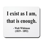 Walter Whitman 18 Mousepad
