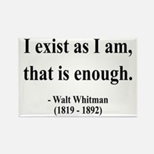 Walter Whitman 18 Rectangle Magnet